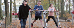 Unser Spendenprojekt: Outdoor-Fitnessgeräte