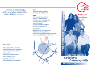 "Flyer ""Theresien-Gruppe"""