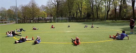 Netzwerktreffen Fußball