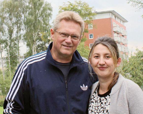 Die Vertrauenspädagogen Asija Bertram und Mathias Kaiser