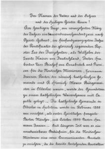 Urkunde 1902