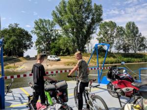 Die Georg-Gruppe auf Fahrradtour