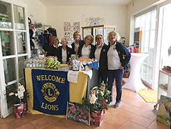 Unterstützung durch das Lions-Golfturnier