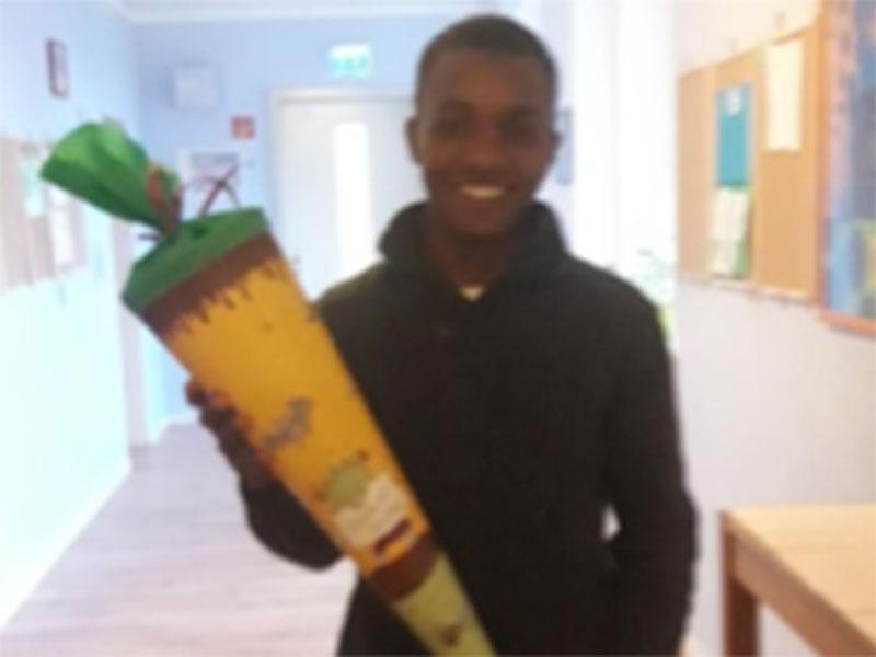 Erster Schultag in Deutschland