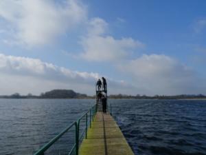 Freizeit am Carlower See im März 2019
