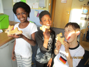 Osterhasen vom Rotary-Club