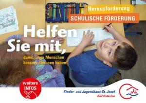 Unser Spendenprojekt: Förderung der schulischen Bildungs- und Begleitungsangebote